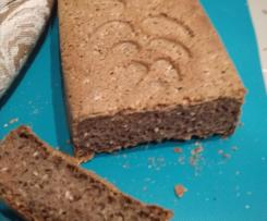 Chleb gryczany (bez jaj, bez, glutenu, bez mleka)