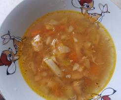 Prosta dietetyczna zupa rybna