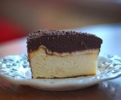 Sernik pod czekoladową kołderką