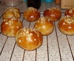 Bułeczki pszenno - owsiane