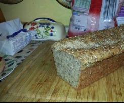 Chleb orkiszowo-gryczany