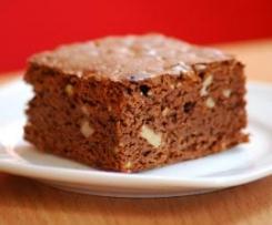 Klasyczne brownie z orzechami