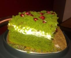 Ciasto ze szpinakiem z mascarpone