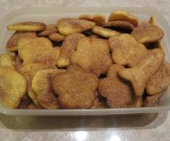 ŚWIĄTECZNE WYPIEKI - Ciastka maślane z arakiem i cynamonem