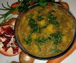 Zupa Detoks Hit na odporność z czerwonej soczewicy + imbir czosnek marchewka brzoskwinia kminek kardamon kolendra cynamon śliwki