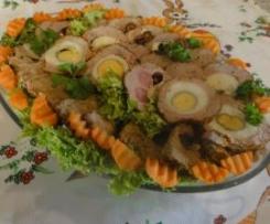 Wielkanocna kiełbasa wieprzowa na Varomie