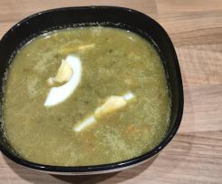 Zupa szczawiowa - przepis od babci zmodyfikowany pod TM