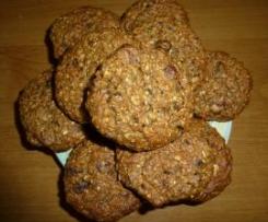 Ciasteczka owsiane - zdrowe i pyszne :-)