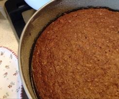 razowe ciasto marchewkowe