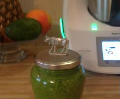 Sos Verde (zielony) z makaronem penne lub spagetti