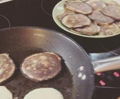 Bananowe Pancakes'y - bezglutenowe, bezcukrowe ... Pyszne :)