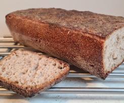 Chleb przenno-żytni na zakwasie