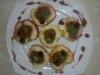 jabłka na Varomie z żurawiną nadziewane migdałami