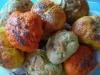 Kolorowe bułeczki wielkanocne