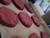 Burgery buraczano-jaglane wegańskie