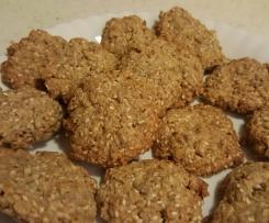 Ciasteczka owsiane sezamowe Reni