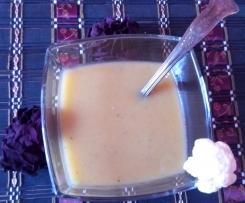 Zupa krem z głąba i liści kalafiora