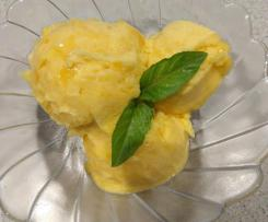 Sorbet z ananasa i mango