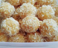 Trufle kokosowe z białą czekoladą