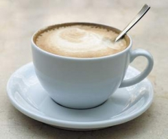 Pyszna kawa z pianką