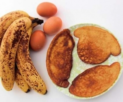 Bananiaki - naleśniki bananowe paleo