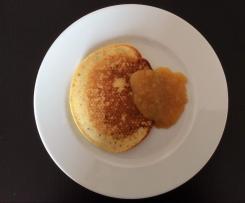 Placki twarogowo-orzechowe bez glutenu