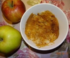 Ryż z jabłkami - na mleku
