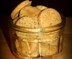 Ciasteczka serowe z przyprawami - wytrawne