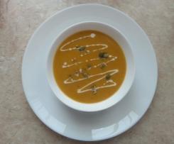 Tajska zupa curry z dyni piżmowej