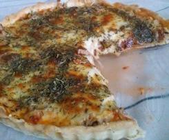 Tarta z tuńczykiem i z mozzarellą
