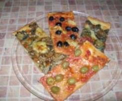 Pizza z dodatkiem maki ryzowej - chrupiaca i lzejsza