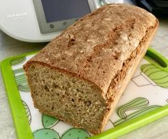 Chleb orkiszowo-żytni na żurku