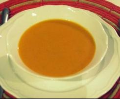 Pyszna kremowa zupa pomidorowa