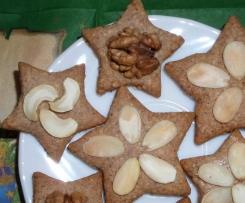 świąteczne ciasteczka cynamonowo migdałowe