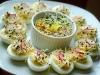 Jajka faszerowane pastą z kiełkami