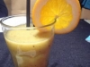 Napoj mlodych bogow:) (kiwi, banan, pomarancza)