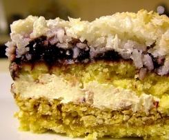 Świąteczne ciasto sezamowo-kokosowe ;o)