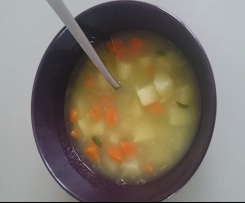 Lekka zupka kartoflana