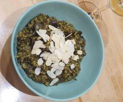 Dietetyczne risotto z pieczarkami