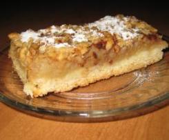 Ciasto półkruche z jabłuszkami
