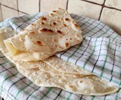 Domowe tortille pszenne