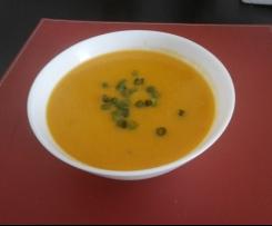 Zupa-krem z pomidorow i soczewicy