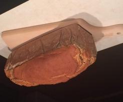 Chleb gryczany bezglutenowy, bez mąki, bez cukru, bez drożdzy