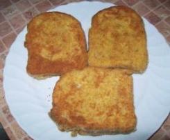 Mozzarella in carrozza - mozzarella w karocy
