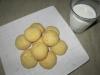 Mleczne ciasteczka z białą czekoladą