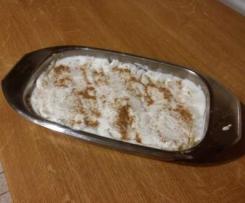 Zapiekanka z kaszy kukurydzianej z białym serem