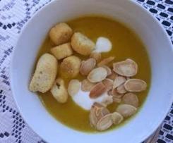 Zupa krem z dynii z imbirem
