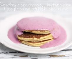 Najlepsze Pancakes z ciecierzycy – beztłuszczowe i bezglutenowe pankejki cieciorkowe