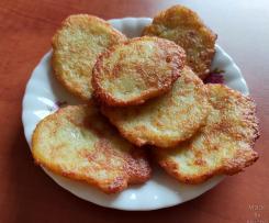 Placki ziemniaczane z mozzarellą