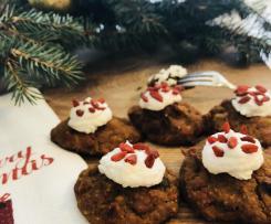 mini świąteczny fit pudding (bez glutenu) zdrowy